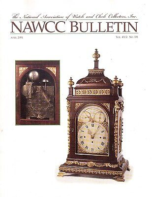 NAWCC BULLETIN (HOROLOGY)  - (2001)  - 6 vintage issues!