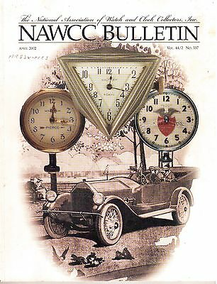 NAWCC BULLETIN (HOROLOGY)  - (2002)  - 6 vintage issues!