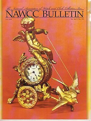 NAWCC BULLETIN (HOROLOGY)  - (2004)  - 6 vintage issues!