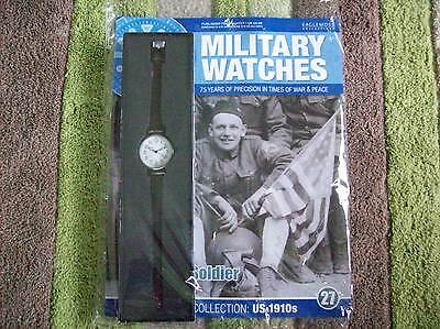 Military Watches Magazine Collection Issue 27 American Soldier 1910's