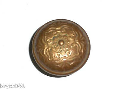 Antique Victorian Era Brass Knob #3