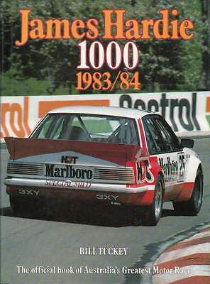 James Hardie 1000 The Official Bathurst Great Race Number 3 1983 / 1984, book