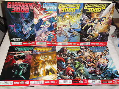 Marvel NOW Comics GUARDIANS 3000 3 BOOK LOT #  1 2 3 OF THE GALAXY VF 2014