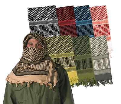 Tactical shemagh heavyweight arab tactical desert keffiyeh scarf rothco 8537
