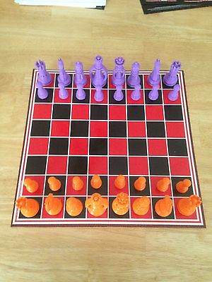 3D CUBE Printed Chess Set Custom Complete. PLA