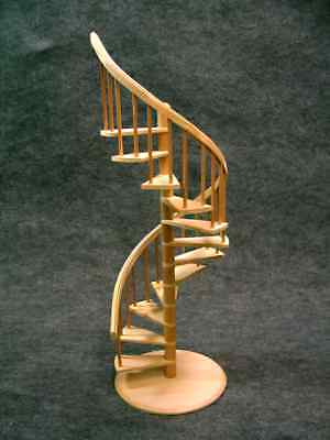 Handcrafted Miniature Spiral Staircase- signed and dated