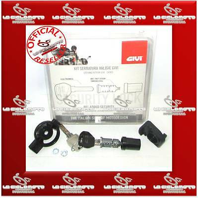 Givi Kit Serratura Chiave Security Lock Sl101 X Bauletto E Valigie Trk52 V47