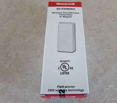 Honeywell 5816 5816WMWH Wireless Door Window ADT Lynx Vista 60 Day Return NIB