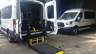 Ford : E-Series Van Standard 2015 ford transit full size ada wheelchair mobility van