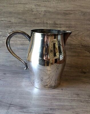 Oneida Silver Plated Paul Revere Reproduction Water Pitcher 6""