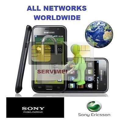 Unlock Code For Any Sony Xperia All Models Worldwide