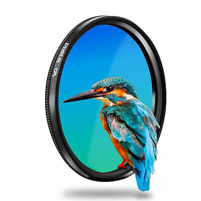 Phot-R 55mm PRO Digital Circular Polarising CPL Threaded Universal Lens Filter