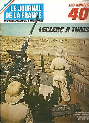 Le Journal De La France - N°144 - 1972 - Leclerc A Tunis