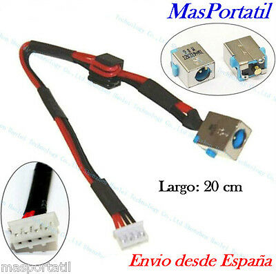 Conector Alimentacion+Cable Nuevo Dc-In Jack Pj253 Packard Bell Easynote P5Ws0