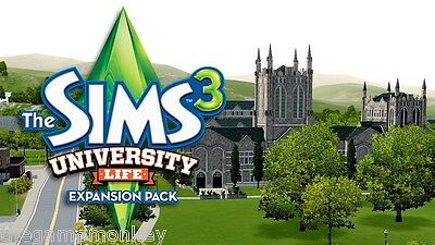 THE SIMS 3 UNIVERSITY LIFE expansion [PC/Mac] Origin key