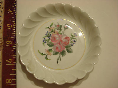 Limoges Haviland French Roses small candy dish with stand