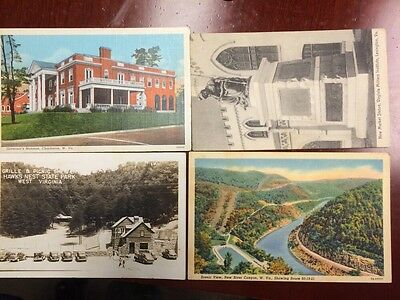 1900's Old Post Cards. Lot Of 12
