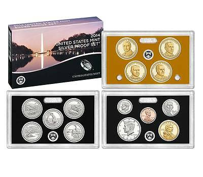 2014 US Mint SILVER Proof Set 14-piece Unopened Directly from Mint ( SW1 )