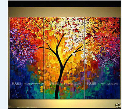 Large canvas/ Modern hand-painted Art Oil Painting Wall Decor+framed