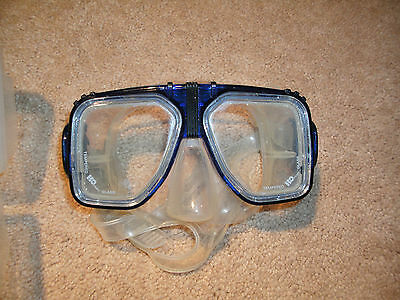 H2O Odyssea Alpha 2 Snorkel Mask with Case tempered Glass