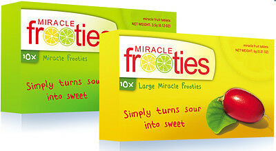 Miracle Frooties Dual Pack Miracle Berry Tablets - The Best Gifts to Share!