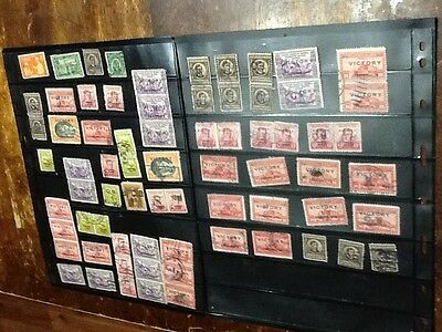 Large group  of Philippines Islands stamps