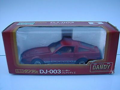 TOMICA DANDY DJ-003 1/43 NISSAN 300ZX - RED - MINT / BOXED