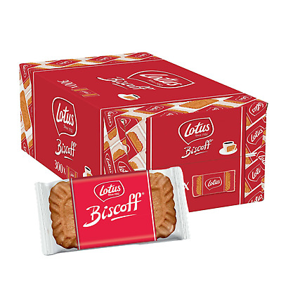 Lotus Biscoff Caramelised Individually Wrapped Biscuits (Case of 300)