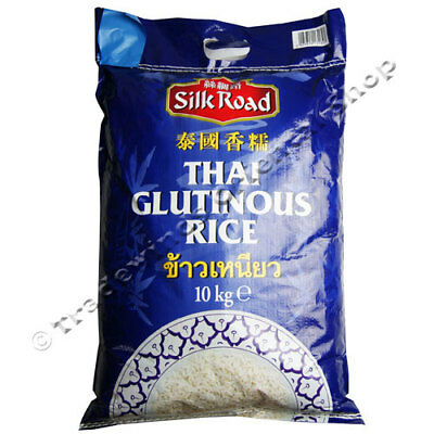Silk Road Thai Glutinous Rice - 10Kg Bag