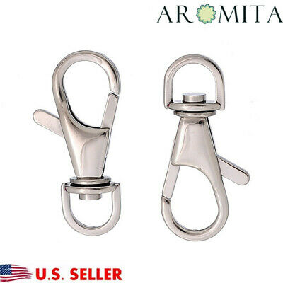 Wholesale Stainless steel Lobster claw Clasps Clips for Key Ring Key Chain 35mm