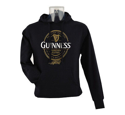 Unisex Guinness Label Hoody - Various Sizes