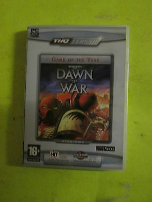 Pc Cd-Rom / Game Of The Year /dawn Of War / Wcg / Ce5