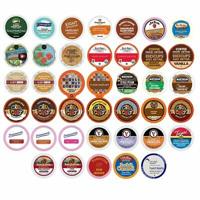 Flavored Coffee Single Serve Cups for Keurig K cup Variety Pack Sampler,40 count