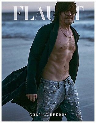Flaunt Magazine: Norman Reedus Cover (Arriving 1st week of  March)