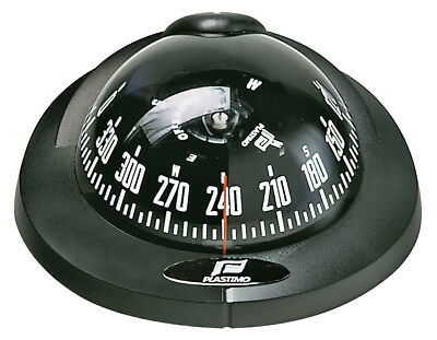 Compass Plastimo Offshore 75 Black Case Black Conical Card Powerboat Compass NEW