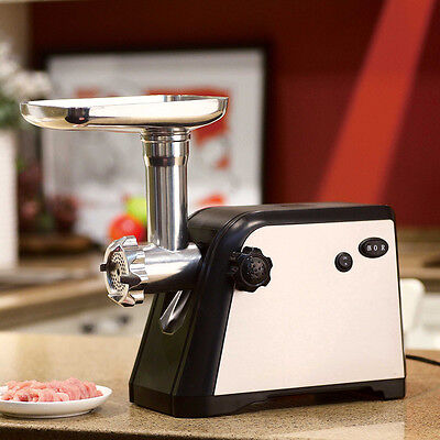 Homeleader 800w stainless meat mincer/electric meat grinder/Sausage Machine