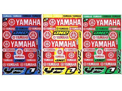 New Yamaha Motorcycle Racing R1 R6 Raptor Dirt Bike Vinyl Decals/Stickers