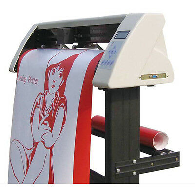 "24"" Vinyl Sign Cutter Plotter with Contour Cut Function+45° Roland Vinyl Knife"