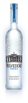 Vodka BELVEDERE LT. 6 LITRI ILLUMINATOR Mathusalem CON LED + Versatore Originale