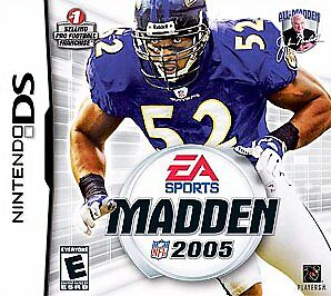 Nintendo DS/Lite/DSi Game MADDEN NFL 2005 - Cartridge Only