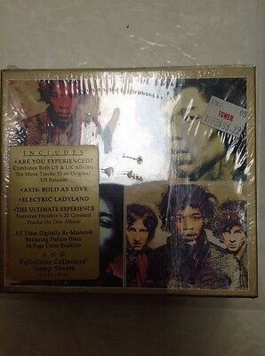 Jimi Hendrix The Experience Collection Box Set