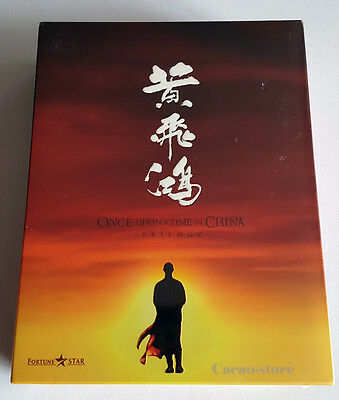 ONCE UPON A TIME IN CHINA (Blu-ray)Trilogy Box Set /English subtitle/ Region ALL