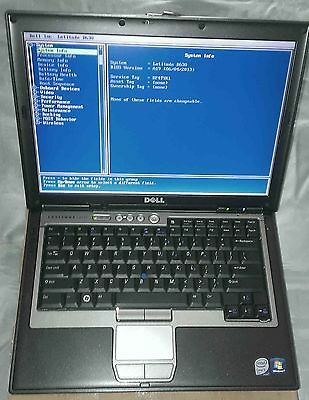Dell Latitude D630 Intel Core 2 Duo 2.5GHz T9300, 2gb RAM, DVD/RW/WiFi/WWAN/BT