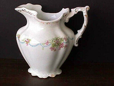**LAVINIA (1) FOOTED CREAMER J & G MEAKIN ENGLAND POST 1890-M34-R