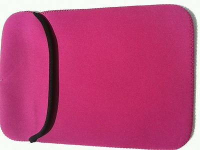 "10.1"" 11"" New Neoprene Sleeve Case Bag Pouch For Small Laptops Tablet  - Pink"