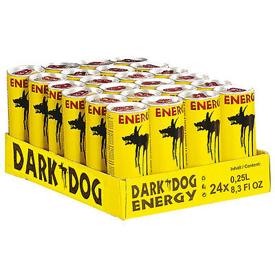 DARK DOG | DARKDOG | Energy Drink  | 1Tray - 24 x 0,25 l (€ 0,43 pro 100 ml)