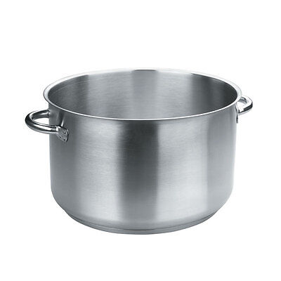 Lacor  Eco Chef | Marmite braisière - faitout induction en inox 18/10 - Ø 16 cm