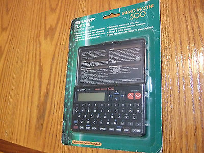 NEW - SEALED in Package - SHARP Memo Master 500 (EL-6170B) PDA - RARE!