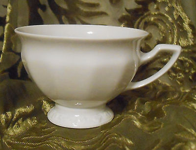 Vintage Rosenthal Maria White 2 5/8 inch Footed  Cup Classic Rose Selb Germany