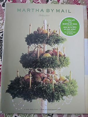 Martha Stewart MARTHA BY MAIL HOLIDAY 2001 Creative Ideas CRAFTS PRODUCTS RARE